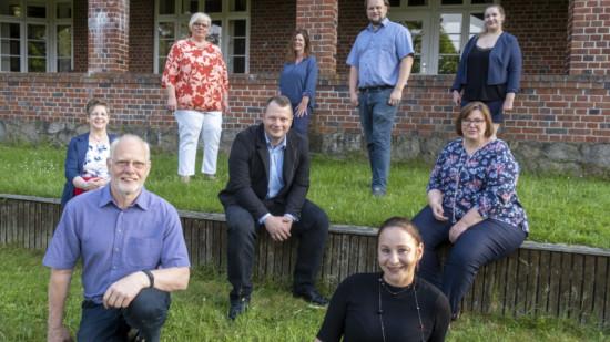 Gruppenfoto Kandidaten